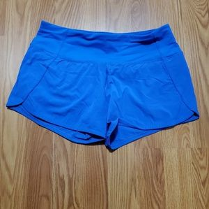 Lululemon Speed short electric blue